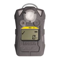 MSA ALTAIR® 2X Single Gas Detector