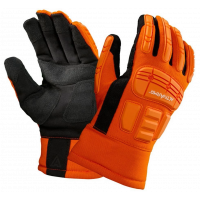Ansell ActivArmr® Impact Protection , Synthetic Leather Palm Gloves (X-Large)