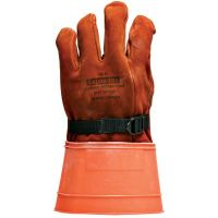 SALISBURY Leather Linesmen's Glove Protector With Straight 4
