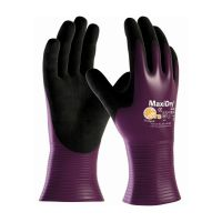 ATG MaxiDry® 56-426 General Purpose Gloves, Silicone Free, Size 9