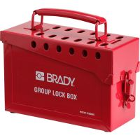 BRADY 65699  Portable Metal Group Lockout Box