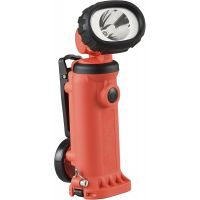 Streamlight Knucklehead HAZ-LO Rechargeable Spot Light with 120-volt AC/12-volt DC Charger, Orange - 150 Lumens