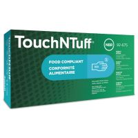 Ansell 92-670 TouchNTuff® Disposable Nitrite Blue Gloves