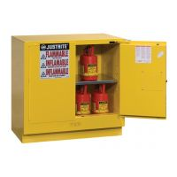 Justrite Sure-Grip® EX Undercounter Flammable Safety Cabinet, 22 gallon - 892320