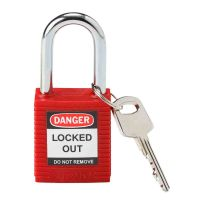 Safety Padlock - Nylon Body with Steel Shackle - 05134