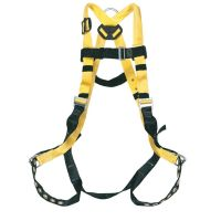 Honeywell Non Stretch Harness with Tongue Buckle Leg Straps, Universal - 650-4/UYK