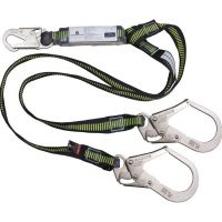 DeltaPlus Energy Absorber with Double Lanyard - AN513180JWW