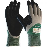 ATG MaxiCut Oil 34-305 Cut Resistant CUT 3 Nitrile Palm Coating Work Gloves