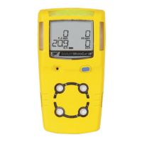 BW™ MicroClip XL Serviceable Multi Gas Detector