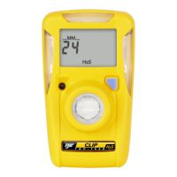Honeywell BW Clip Single Gas Detector-2 years-O2