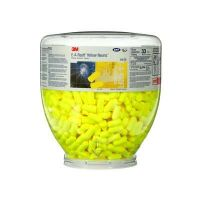 3M™ E-A-Rsoft™ Yellow Neons™ One Touch™ Refill Earplugs , Uncorded, Regular Size, 200 Pair/Box