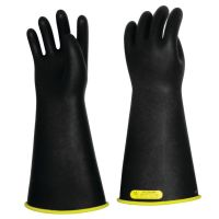 Salisbury E216YB Lineman Gloves Class 2 16'' Black With Yellow Inside