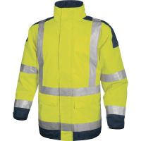 High Visibility Safety Jacket with Reflective Bands