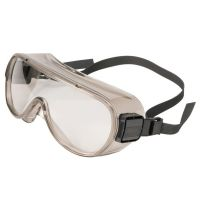 Encon 500 Series 501Q Gray Frame, Clear Lens, Uncoated Goggle, 05057202
