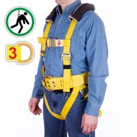 Fall Arrest Harness FW-3, Three D-Rings