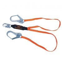 Miller Shock-Absorbing Lanyard, 6-ft Double-Leg T6122