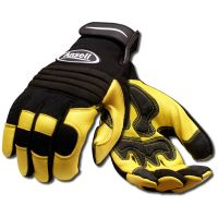 Ansell Projex 97-977 Heavy Duty Reinforced Leather Gloves with VELCRO® Cuff