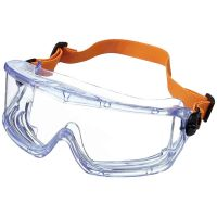 Honeywell V-MAXX  Safety Goggles, Indirect Ventilation, PC FogBan Lens, Elastic Headband - 1006193