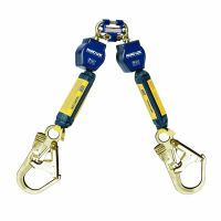 3M™ DBI-SALA® 3101270 Nano-Lok™ Personal Self Retracting Lifeline, Twin-leg, Web, 6 ft
