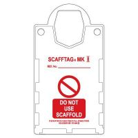 Scafftag® Safety Tag Holders 'Do not use Scaffold'