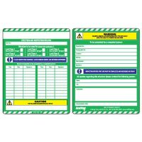 Scafftag® Scaffold Pass Inspection MK2 Inserts