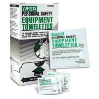 MSA 697383 Safety Equipment Cleaning Towelettes, 100/Box