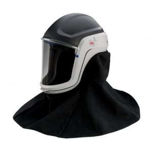 3M™ M-407 Versaflo™ Respiratory Helmet Assembly with Premium Visor and Flame Resistant Shroud