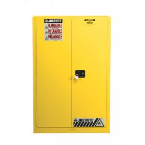 Sure-Grip® EX Combustibles Safety Cabinet For Paint And Ink,60 Gallon,2 Manual Close Doors.