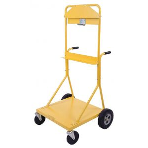 Encon Mobile Eyewash Cart only for Eye Wash, Length 24 In, Width 28-1/2 In., Height 60