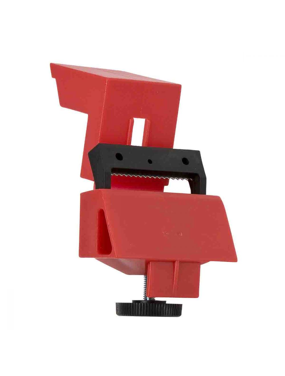 No Lock Needed 148686 480//600 Volt Clamp-On Single-Pole Breaker Lockout Device with Detachable Cleat Pack of 25 Red Brady Taglock Circuit Breaker Lockout Devices
