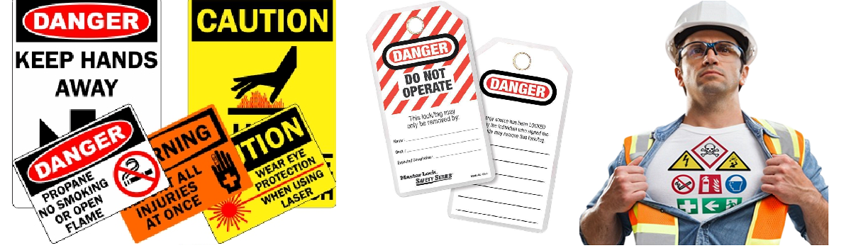 Safety Tags and labels